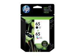 HP 65 2-pack Black/Tri-color Original Ink Cartridges