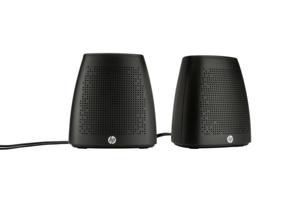 HP S3100 Black USB Speaker - Center