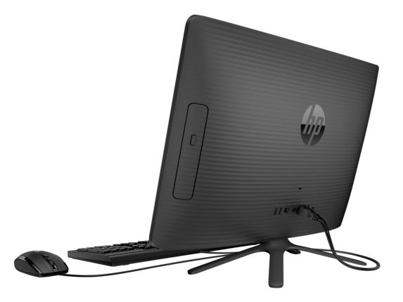 HP All-in-One - 20-c225t - Left rear