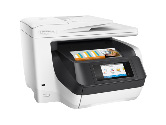 HP OfficeJet Pro 8730 All-in-One Printer - Right