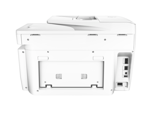 HP OfficeJet Pro 8730 All-in-One Printer - Rear