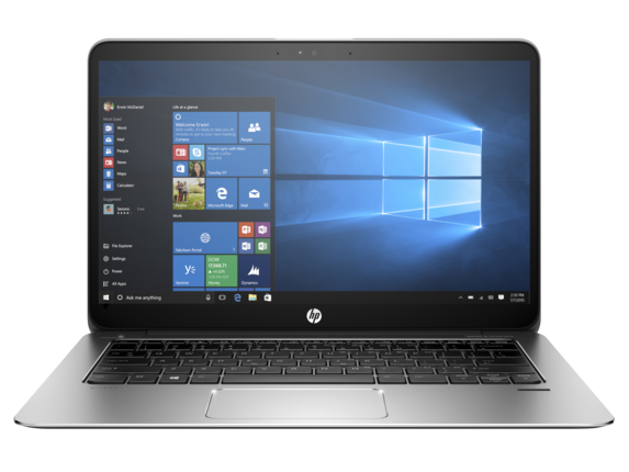 HP EliteBook 1030 G1 Notebook PC (ENERGY STAR) - Center