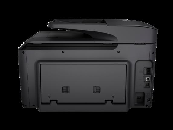 HP OfficeJet Pro 8715 All-in-One Printer - Rear