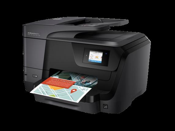 HP OfficeJet Pro 8715 All-in-One Printer - Left