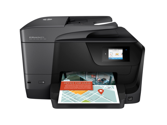 HP OfficeJet Pro 8715 All-in-One Printer - Center