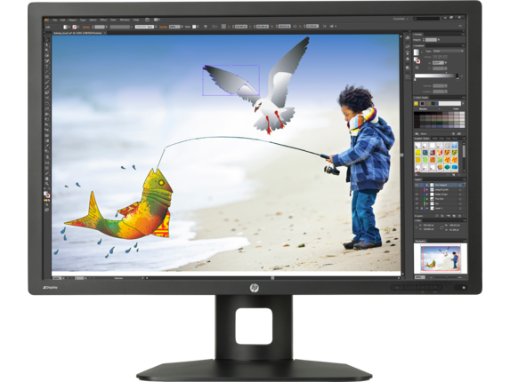 HP Z Display Z30i 30-inch IPS LED Backlit Monitor - Center