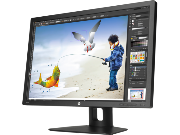 HP Z Display Z30i 30-inch IPS LED Backlit Monitor - Left