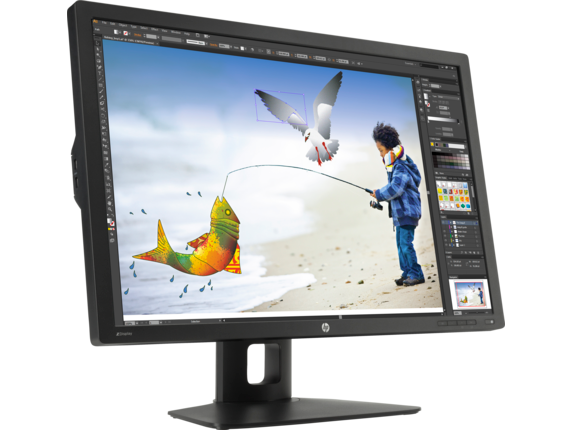 HP Z Display Z30i 30-inch IPS LED Backlit Monitor - Right