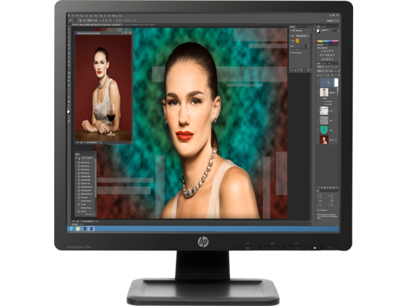 HP ProDisplay P19A 19-inch LED Backlit Monitor - Center