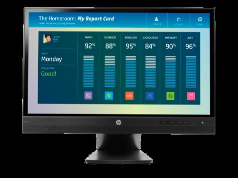 צג מגע HP EliteDisplay E220t, 21.5 אינץ'
