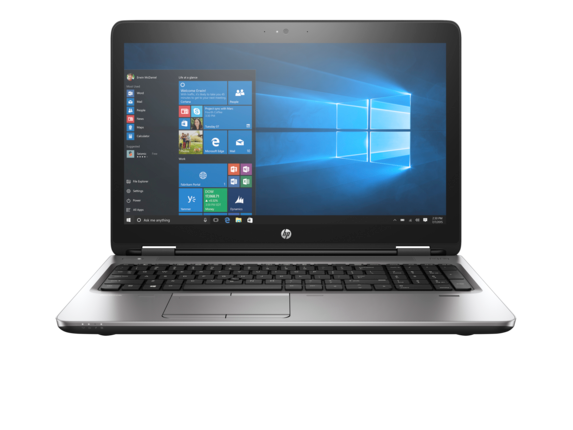 HP ProBook 650 G2 Notebook PC (ENERGY STAR) - Center