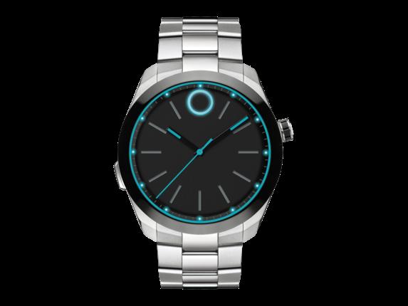 Movado Bold Motion Steel/Bracelet Smartwatch Engineered - Center
