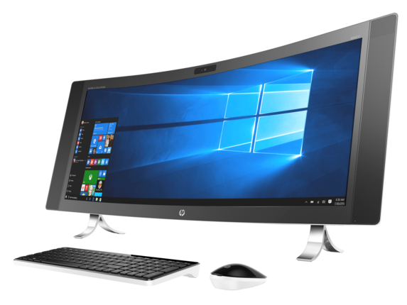 HP ENVY Curved All-In-One Desktop 34-a010
