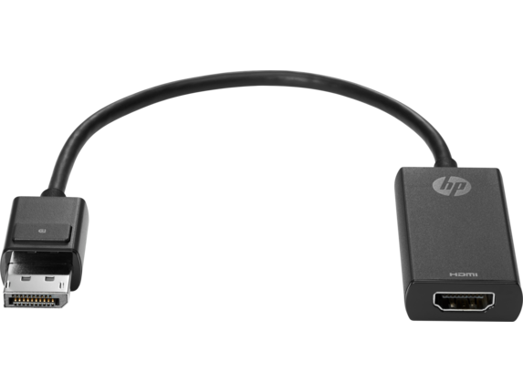 HP DisplayPort to HDMI 1.4 Adapter for PC - Center