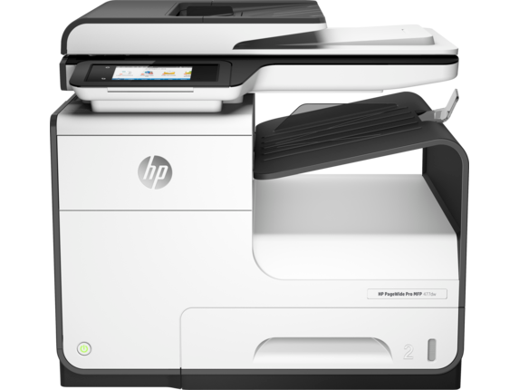 HP PageWide Pro 477dw Multifunction Printer - Center