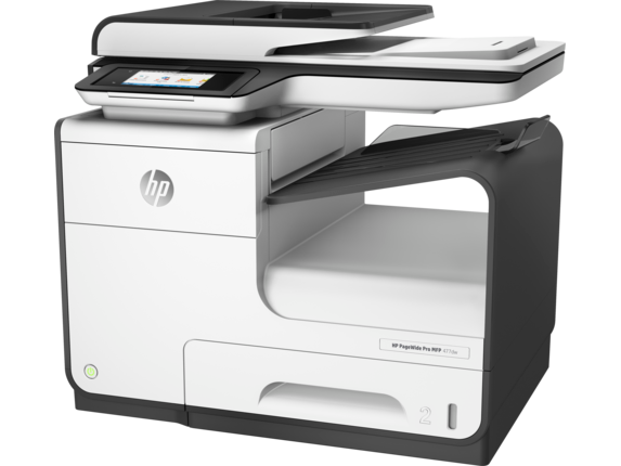 HP PageWide Pro 477dw Multifunction Printer - Left