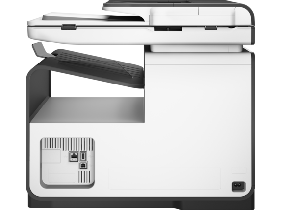 HP PageWide Pro 477dw Multifunction Printer - Rear