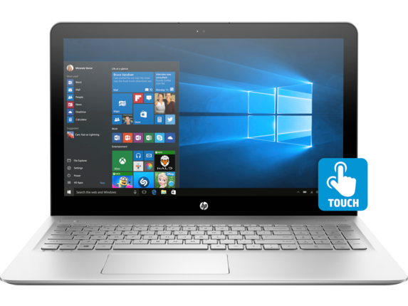 HP ENVY Laptop -15t touch - Center