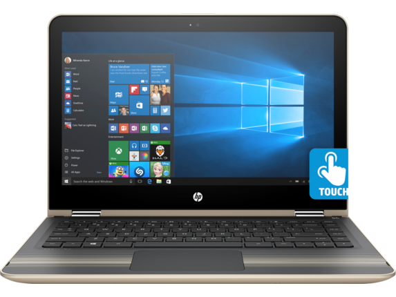 "HP Pavilion x360 2-in-1 13.3"" HD Core i5 Touchscreen Laptop"