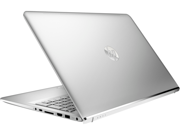 HP ENVY Laptop -15t touch - Left rear