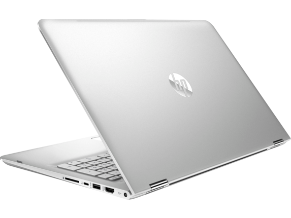 HP ENVY x360 Convertible Laptop - 15t - Left rear