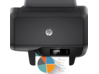 HP OfficeJet Pro 8210 Printer - Top view closed