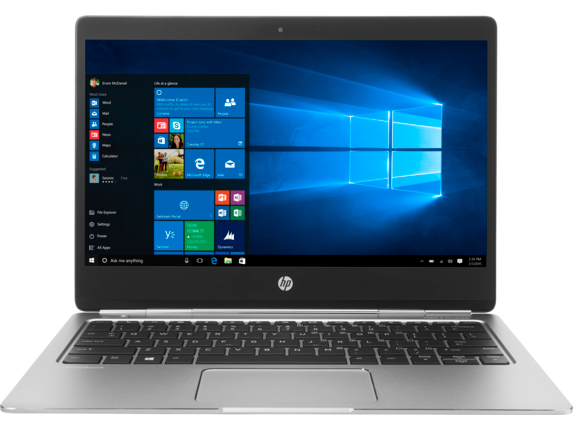 HP EliteBook Folio G1 Notebook PC - Customizable - Center