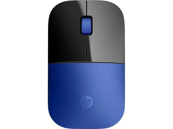 HP Z3700 Blue Wireless Mouse - Center