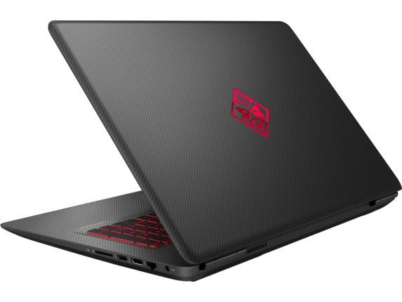 OMEN Laptop - 17t gaming - Left rear