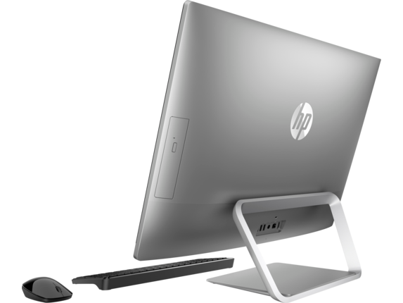 HP Pavilion All-in-One - 27-a210t - Left rear
