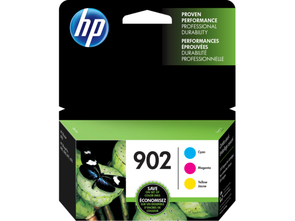 HP 902 3-pack Cyan/Magenta/Yellow