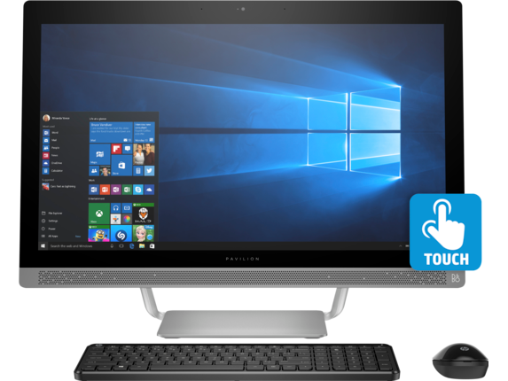HP Pavilion All-in-One - 27-a230 - Center