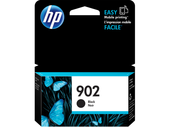 HP 902 Black Original Ink Cartridge - Center