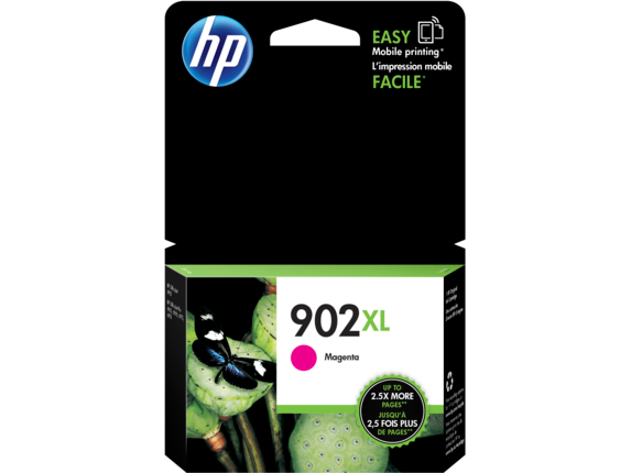 HP 902XL High Yield Magenta Original Ink Cartridge - Center