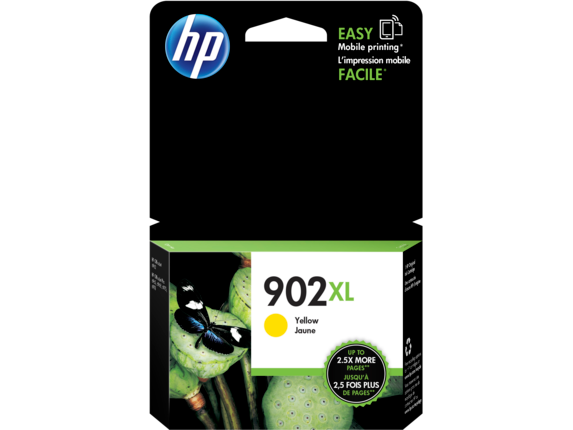 HP 902XL High Yield Yellow Original Ink Cartridge - Center