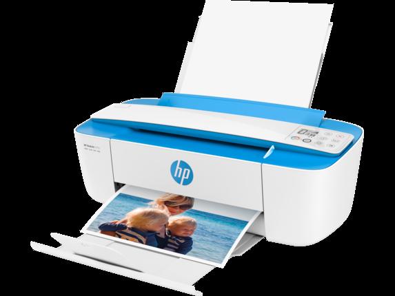 HP DeskJet 3755 All-in-One Printer - Left