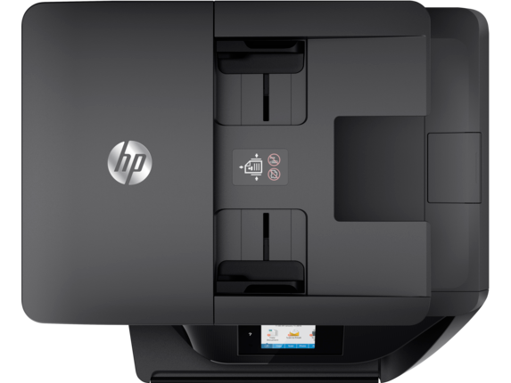 HP OfficeJet Pro 6978 All-in-One Printer - Top view closed