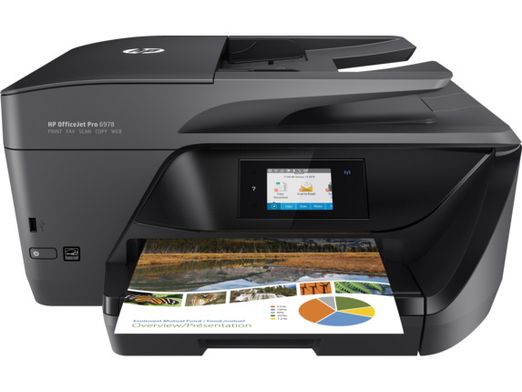 HP OfficeJet Pro 6978 All-in-One Printer - Center