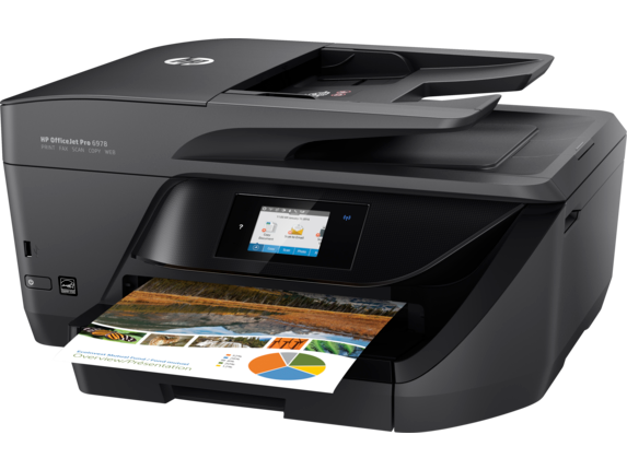 HP OfficeJet Pro 6978 All-in-One Printer - Left