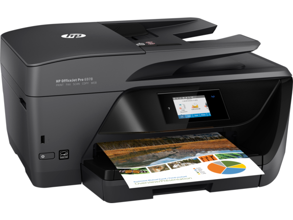 Hp officejet pro 6978 all in one printer t0f29a b1h hp for Best home office multifunction printers