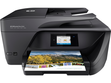 HP OfficeJet Pro 6968 All-in-One Printer