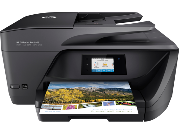 HP OfficeJet Pro 6968 All-in-One Printer - Center