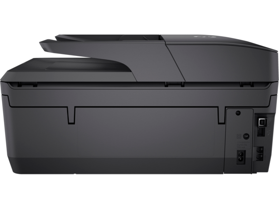HP OfficeJet Pro 6968 All-in-One Printer - Rear