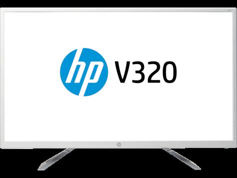 צג HP V320 בגודל 31.5 אינץ'