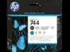 HP 744 Photo Black/Cyan DesignJet Printhead