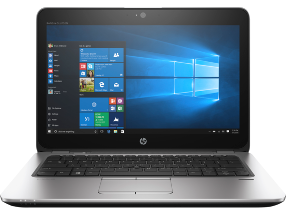 HP EliteBook 820 G3 Notebook PC (ENERGY STAR) - Center