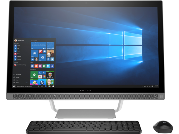 HP Pavilion All-in-One - 27-a210t - Center