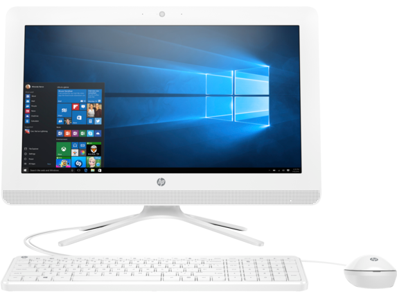 HP All-in-One - 20-c210 - Center
