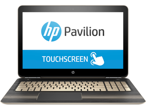 Notebook HP Pavilion serie 15-bc000 (Touch)