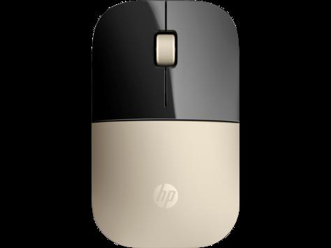 עכבר אלחוטי מוזהב דגם Z3700 של HP